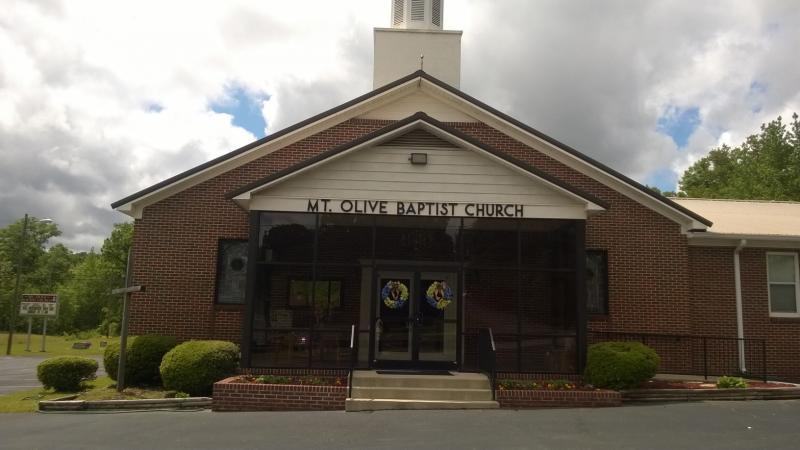 Mount Olive Baptist Church, Talladega Alabama